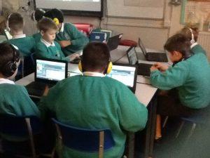 Hour of Code in Class 4